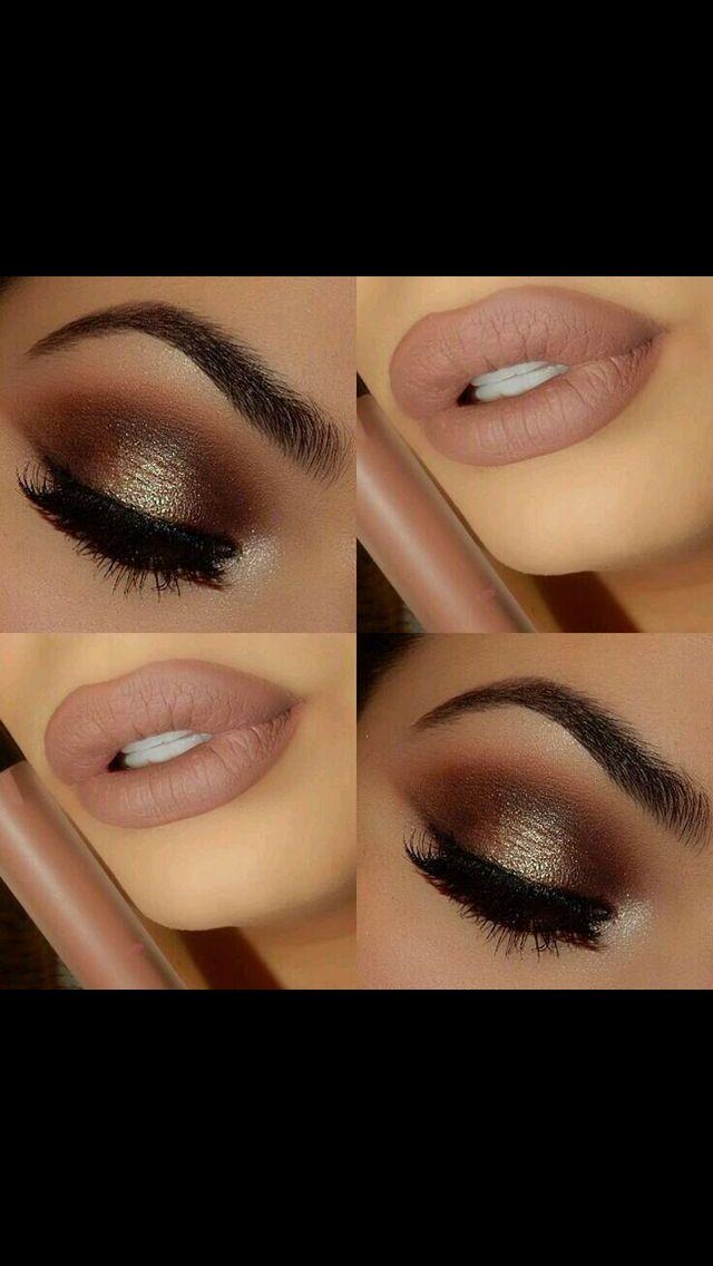 Intense makeup