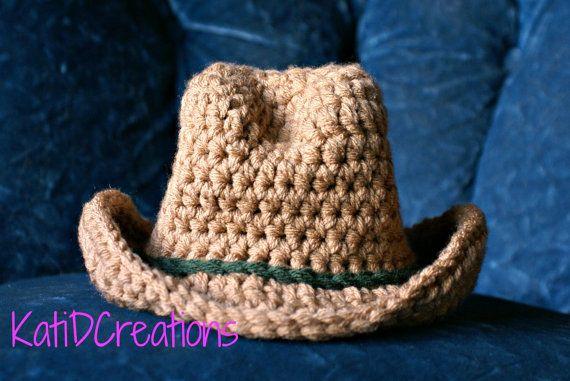 Free Pattern Cowboy Hat Newborn Pictures Photo Prop