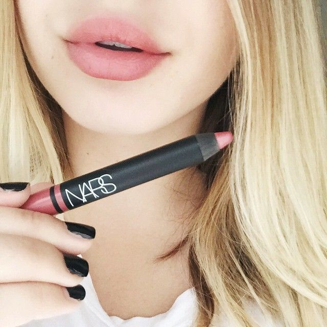 Another day, another lipstick. // NARS Rikugien