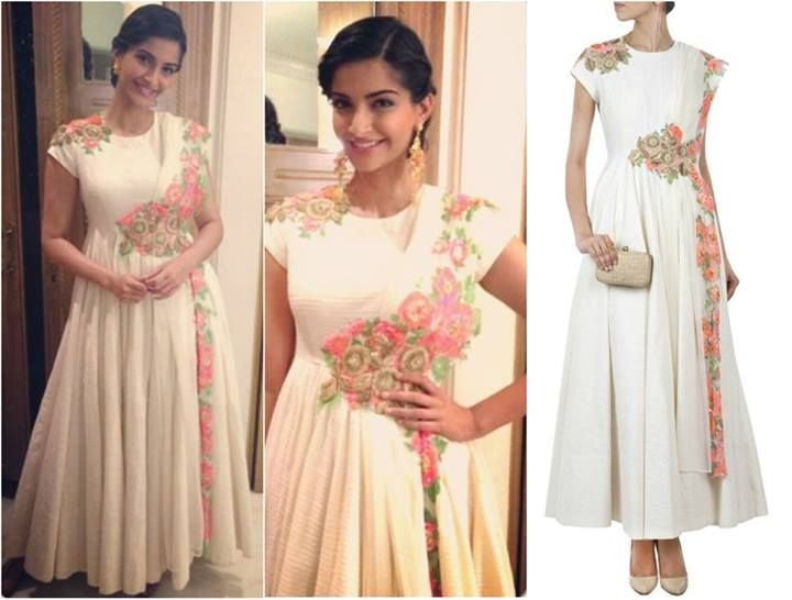 Fashion Tips from Bollywood Diva Sonam Kapoor- Of Anarkali's