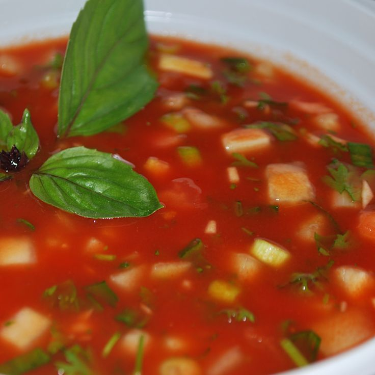 The Best Gaspacho Soup Recipe