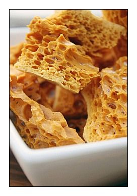 honeycomb toffee - need a candy thermometer
