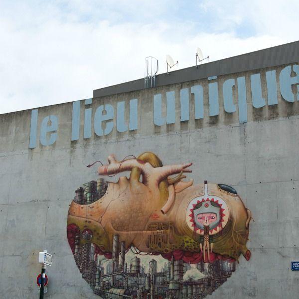 Street art Graffiti Nantes Moko et Ryngar