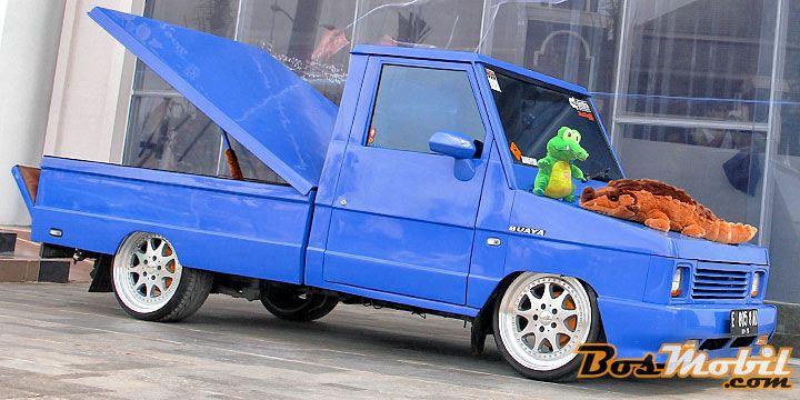 Modifikasi Toyota Kijang Pick Up : Si Buaya Cirebon