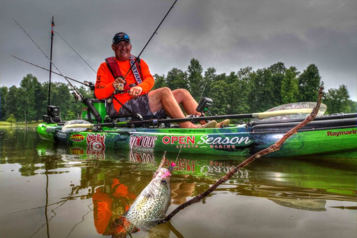 How to catch crappie out of a Jackson Kayak featuring Crispin Powley
