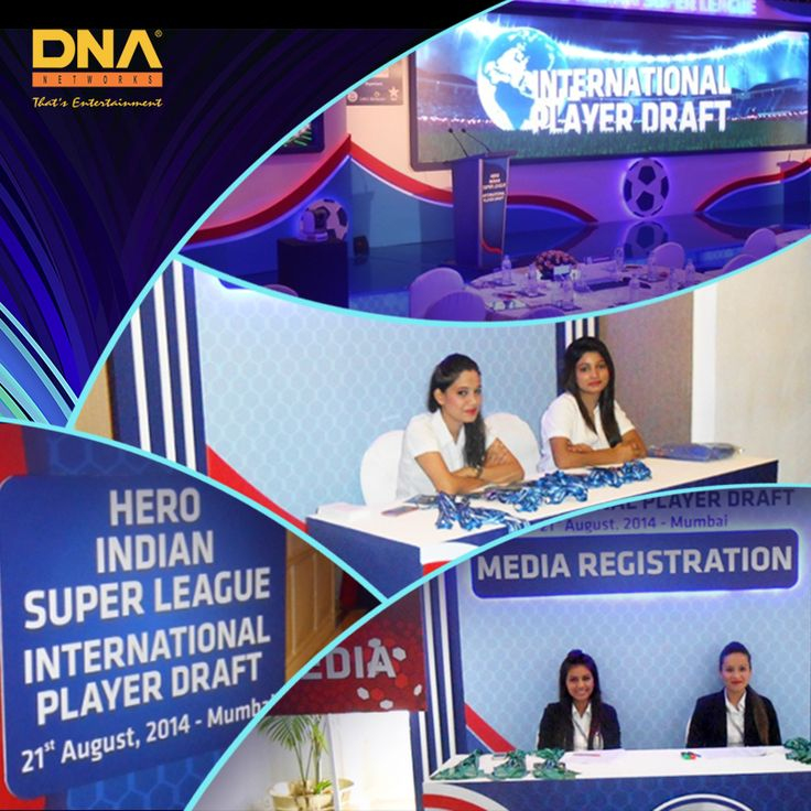 We held the HISL International player draft at the Taj Hotel, Mumbai