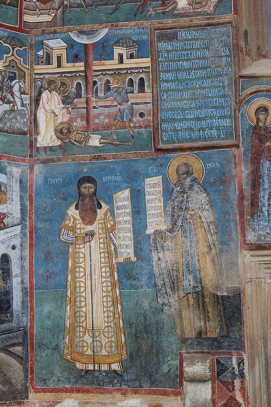 Mănăstirea Voroneț Monastery - Voroneț, Jud. Suceava, Romania   par Wayne W G