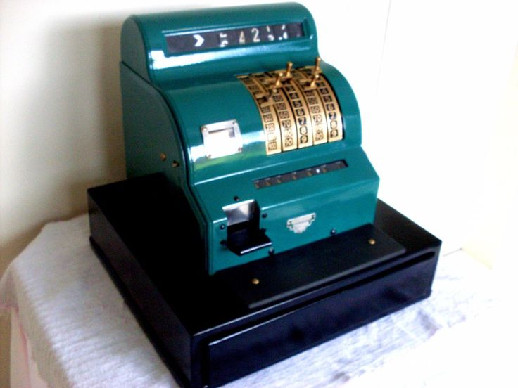 caixa registradora antiga original