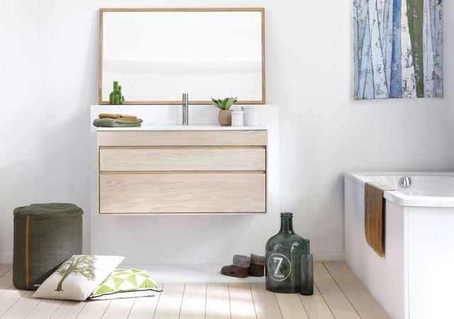 17 meilleures id es propos de tiroir suspendu sur pinterest coin vier sa - Hauteur d un meuble de salle de bain suspendu ...