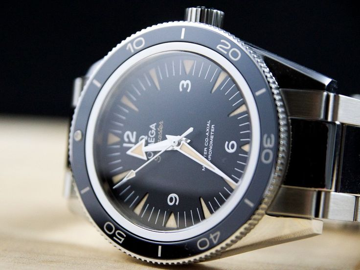 In the Flesh: Omega Seamaster 300 Master Co-Axial