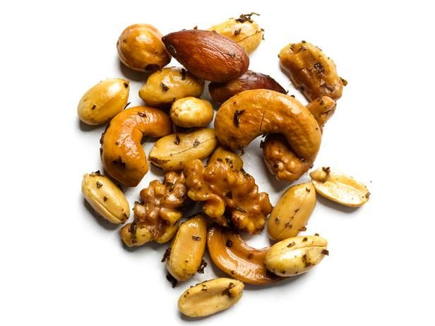 Buttery Herbed Nuts