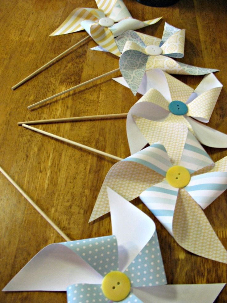 cute as a button baby shower | Cute as a button, pinwheels for baby shower | My Style