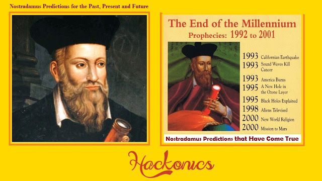 OMG? How? Predictions From Nostradamus That Are Coming True and TOP 10  2017 Predictions
