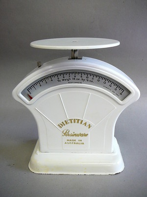 Vintage Persinware Kitchen Scales RARE DIETITIAN Type | eBay