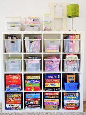 Ideas para organizar el cuarto de juegos: Foto © Flickr