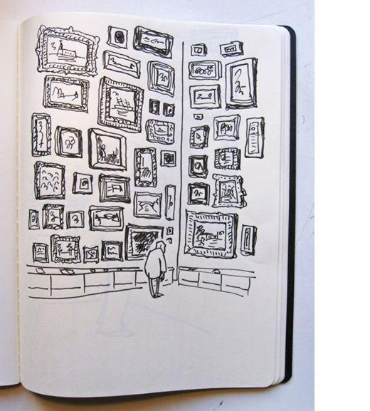 Ilustrator & Cartoonist Oslo Davis via The Design Files