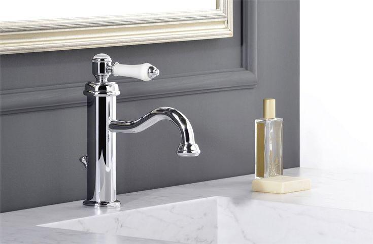 Retro styl vodovodních baterií LONDON II je v dnešní době velice módní, i v koupelnách, které si můžete zařídit v tomto stylu a přitom využít pokročilých technologií a materiálů.