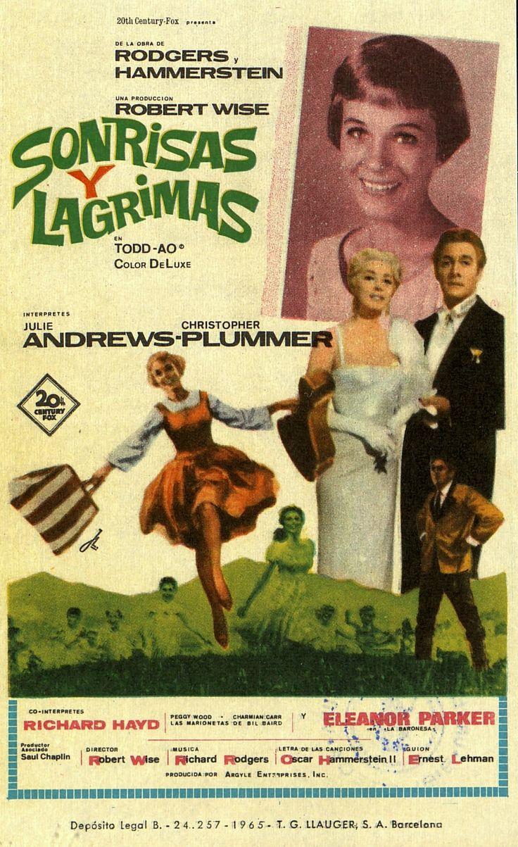 """#TalDiaComoHoy de hace 50 años, el 2 de marzo de 1965, se estrenaba """"Sonrisas y lágrimas"""". Mira más información sobre este estreno y la película en: https://sandraferrerv.wordpress.com/2015/03/02/50-anos-de-sonrisas-y-lagrimas/"""