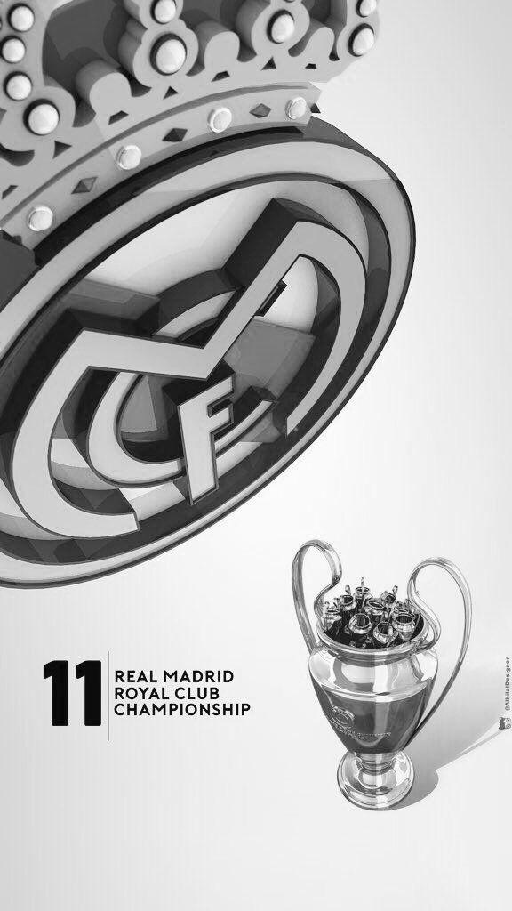 Real Madrid 3D wallpaper | By @alhilaldesigner