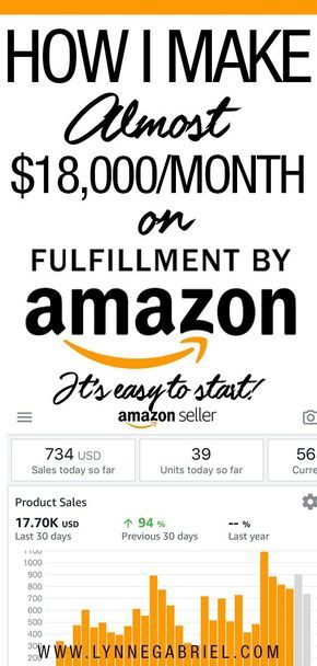 How To Make Money Online Through Amazon FBA (I Make Almost $18K/Month!) – Sally Schott