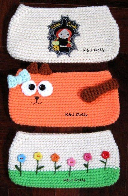 Free Crochet Purse Patterns   2000 Free Amigurumi Patterns: Little bag crochet pattern