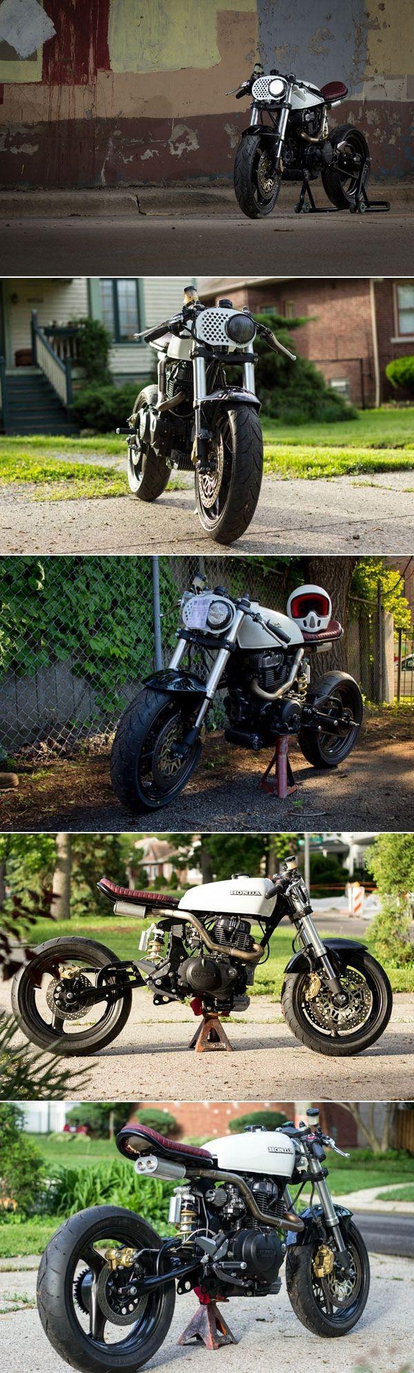 Honda 450 Cafe Racer #motorcycles #caferacer #motos | caferacerpasion.com