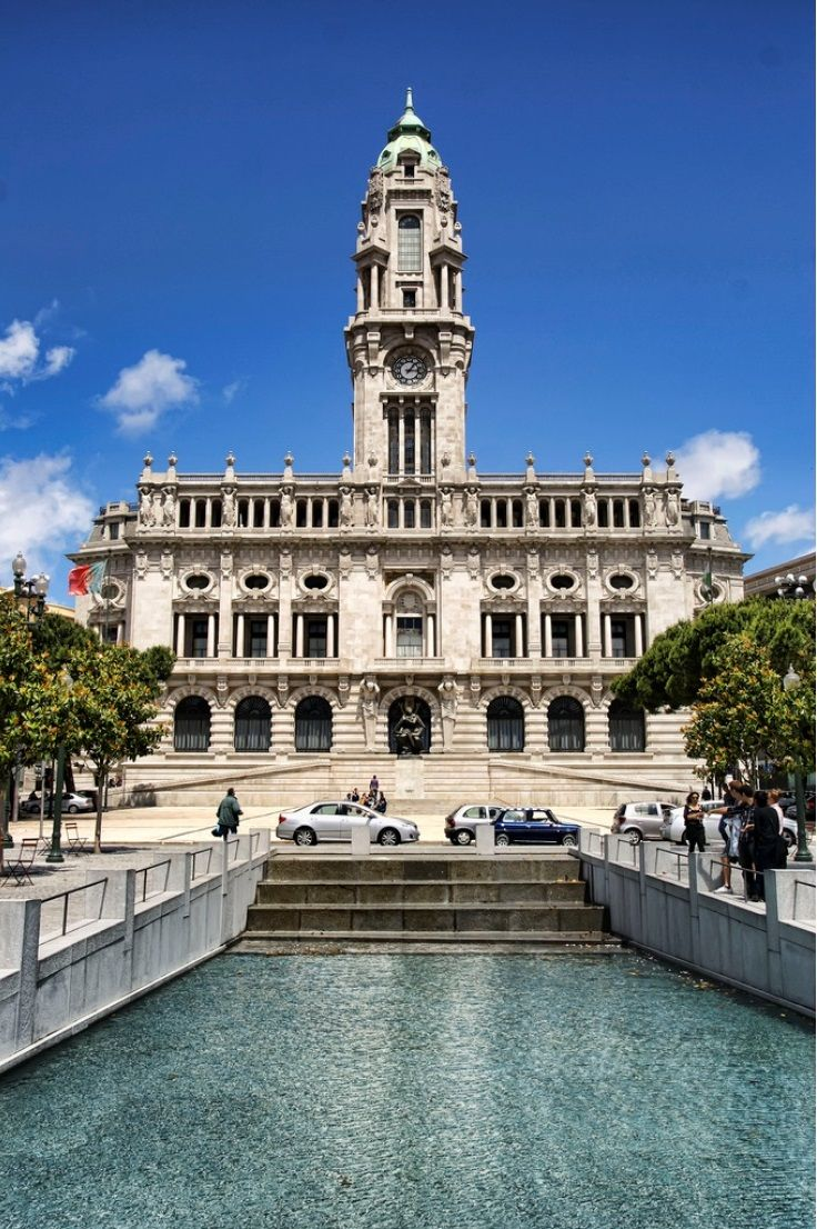 Porto City Hall | Route of the Stars Porto Gastronómic Event | 5 - 7 June | Book Now Here: http://www.the-yeatman-hotel.com/en/food/route-stars/ | #Porto | #Portugal |