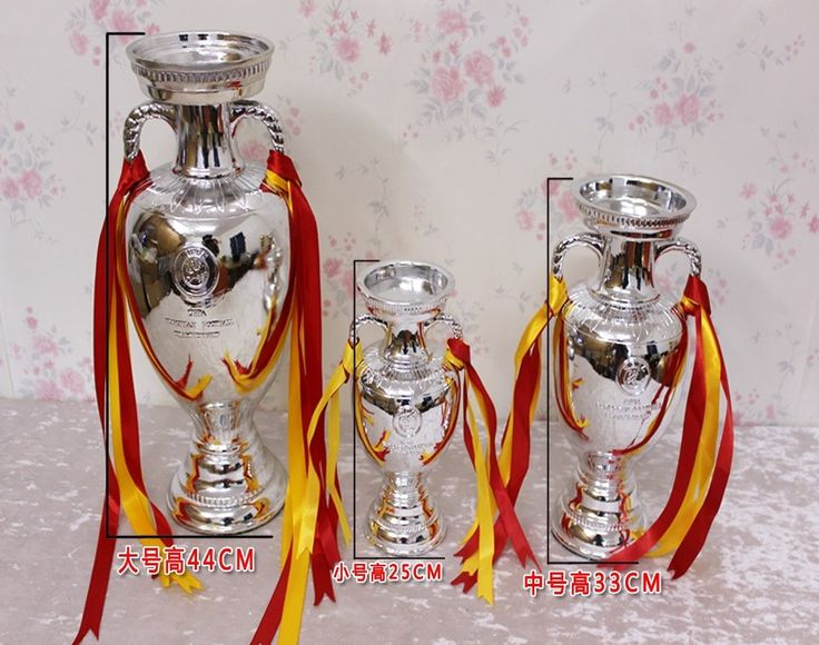 349.99$  Buy now - http://aliobs.worldwells.pw/go.php?t=32790693408 - DHL OR EMS 2016 European Championship 60cm Silver Plated Resin Soccer Pierre Delaunay Cup Trophy Cup Football Souvenirs 349.99$