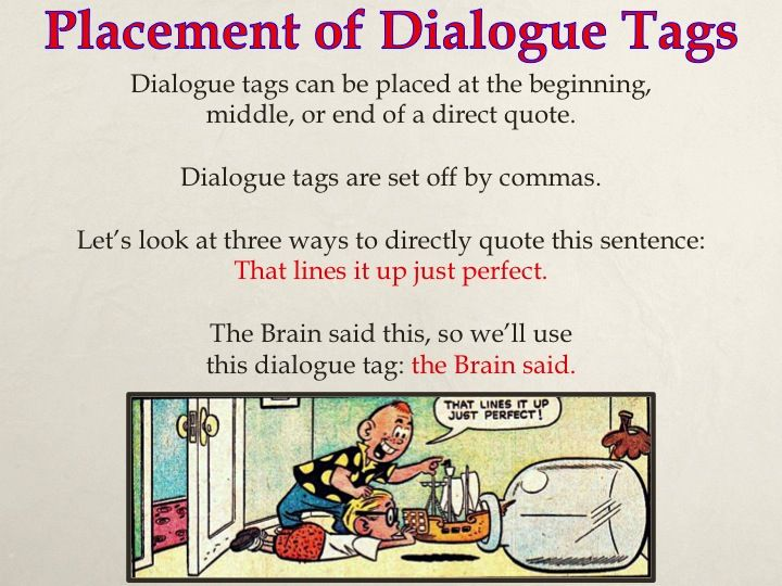 Writing Dialogue with Comic Strips - Capitalizing and ...