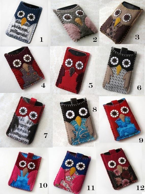Owl cases!!