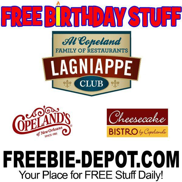 ►► FREE BIRTHDAY STUFF - Cheesecake Bistro ►► #BDay, #Birthday, #BirthdayFreebie, #BirthdayGift, #FreeBirthdayStuff, #FrugalFind, #FrugalLiving, #HappyBirthday ►► Freebie Depot