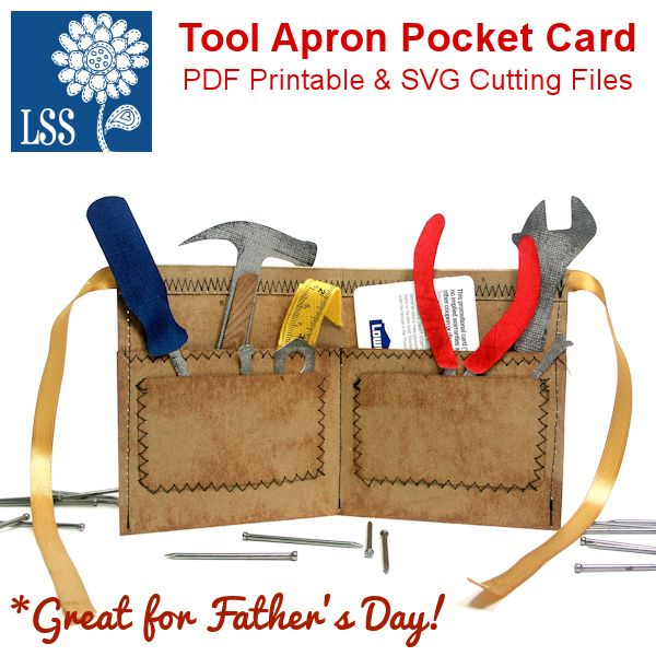 Lisa S Tool Time Father S Day Card: Great Father's Day Idea For Gift Cards