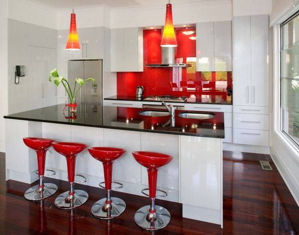 Ultra modern kitchens a collection of design ideas to try for Sillas para desayunador