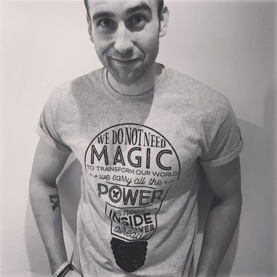 Matthew Lewis supports Lumos, an international non-profit organisation founded by J.K. Rowling.