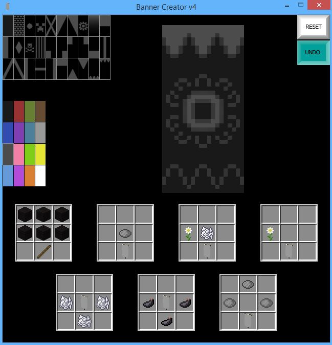 [1.8 Snapshot] War Banner Creator - Minecraft Tools - Mapping and Modding - Minecraft Forum - Minecraft Forum
