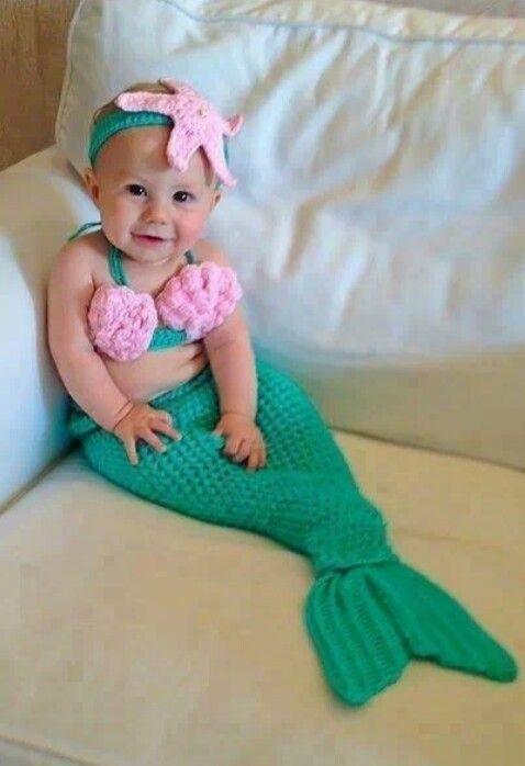 Baby mermaid dress | too cute
