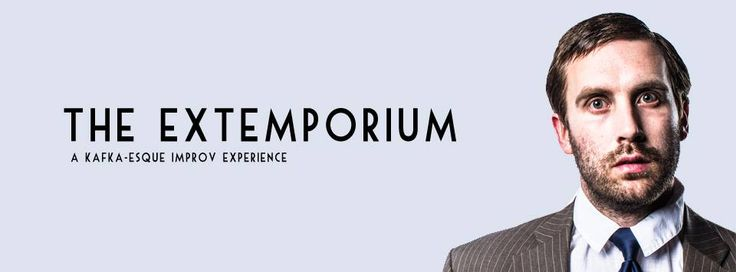The Extemporium--an Improvised Franz Kafka by Paper Street Theatre in Victoria BC. October 22-24 2014. A review.
