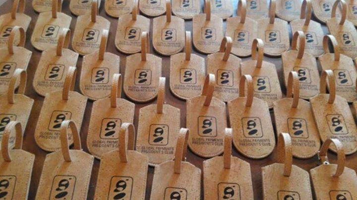 Bagage labels met logo, ideaal voor relatie-of kerstgeschenk