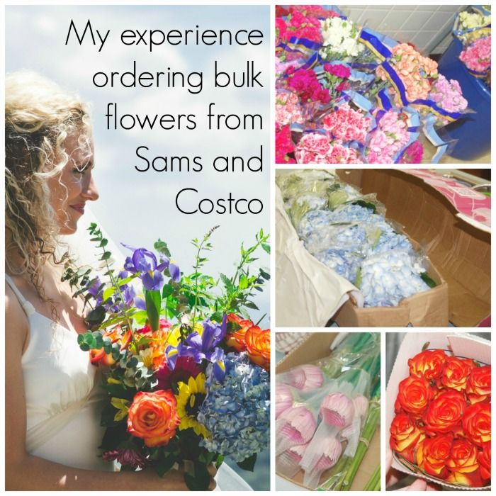 wedding flowers hack order bulk flowers from sams and costco and save lots of money
