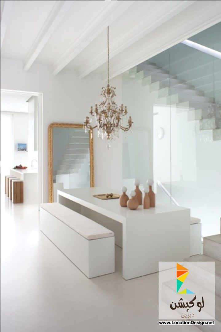 Love The Elegant Chandelier With Modern Dining Room Furniture