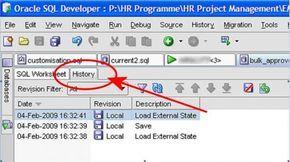 SQL Developer Tips