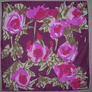 good floral - Vera Scarf    via razberry boutique vintage scarf blog
