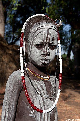Mursi Child, Omo Valley - Ethiopia | by Giovanni Mari