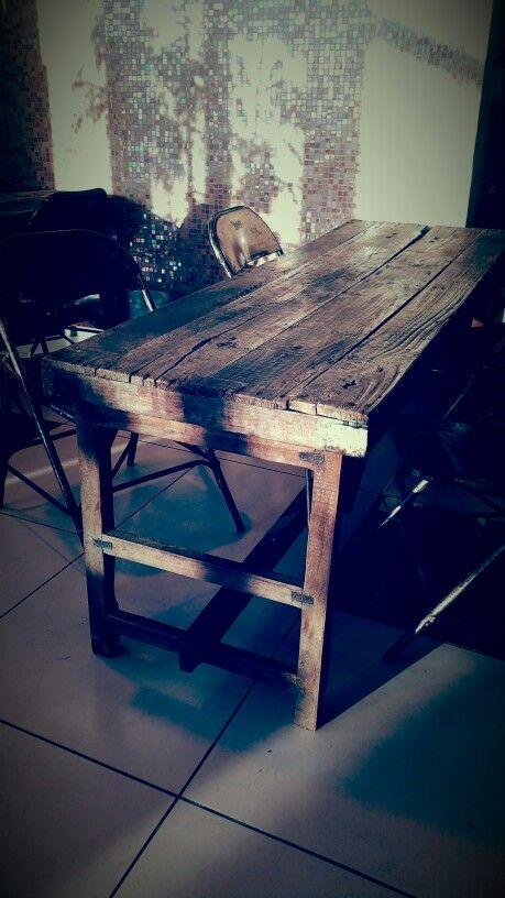 Xlab design italiano tavolo vintage in legno www.designxtutti.com