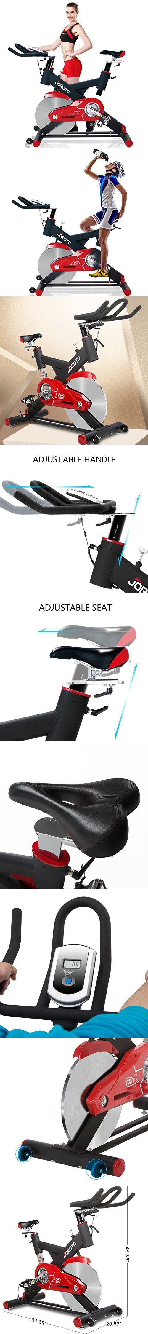 Exercise Bike Indoor Cycle Trainer JOROTO X3 Workout Cycling Bicycle Exercise Stationary Bike Machine for