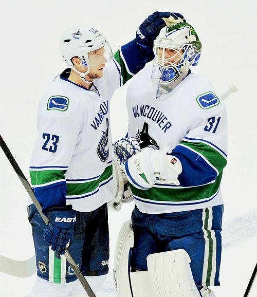 Alexander Edler & Eddie Läck - Vancouver Canucks