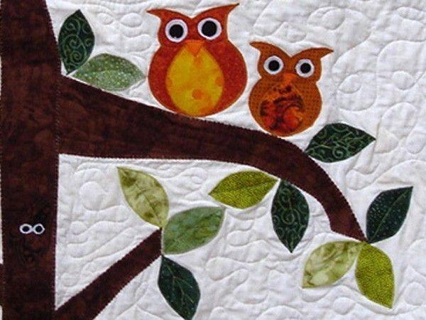 Owl Baby Quilt -
