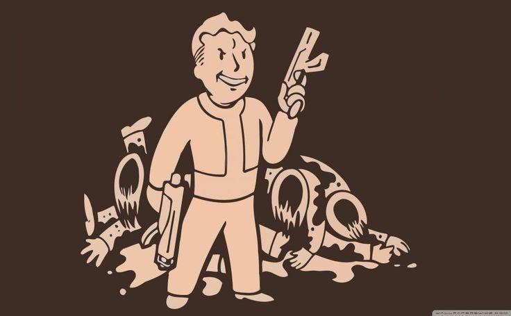 Fallout Vault Boy HD Wallpaper