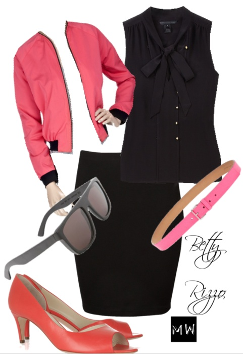 Betty Rizzo from grease, really need to work on my wardrobe!