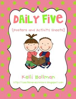 The Daily Five Posters and Anchor Charts {FREE}--I may have already pinned this....guess it's time to stop pinning and look at what has been pinned LOL!